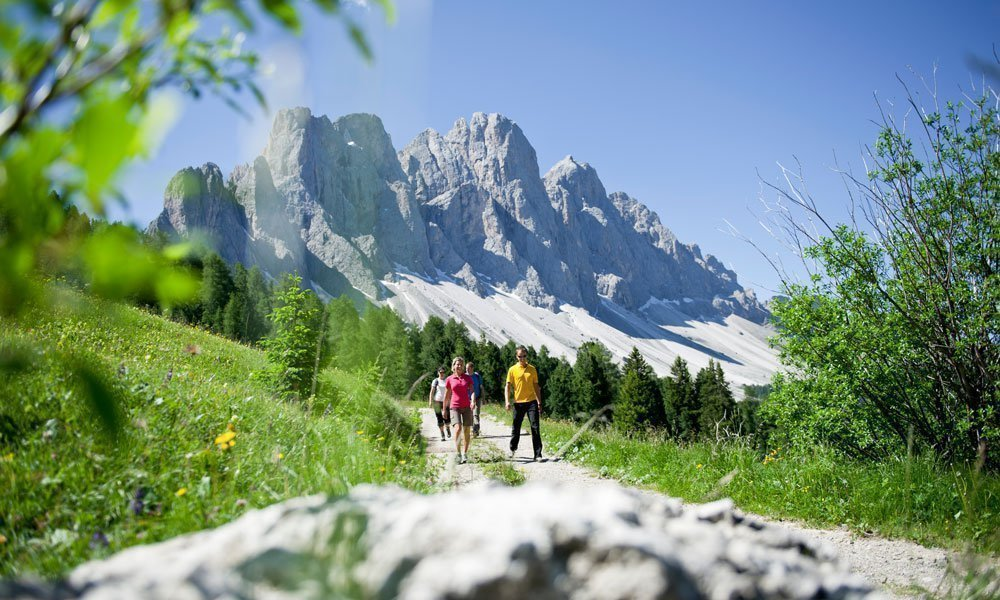 Make a holiday in the Dolomites - and everything is on site