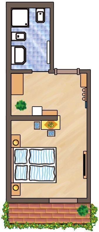 Skizze Komfortzimmer