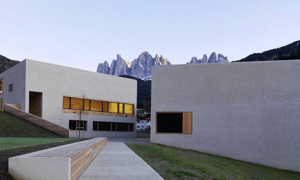 Das Naturparkhaus Puez Geisler
