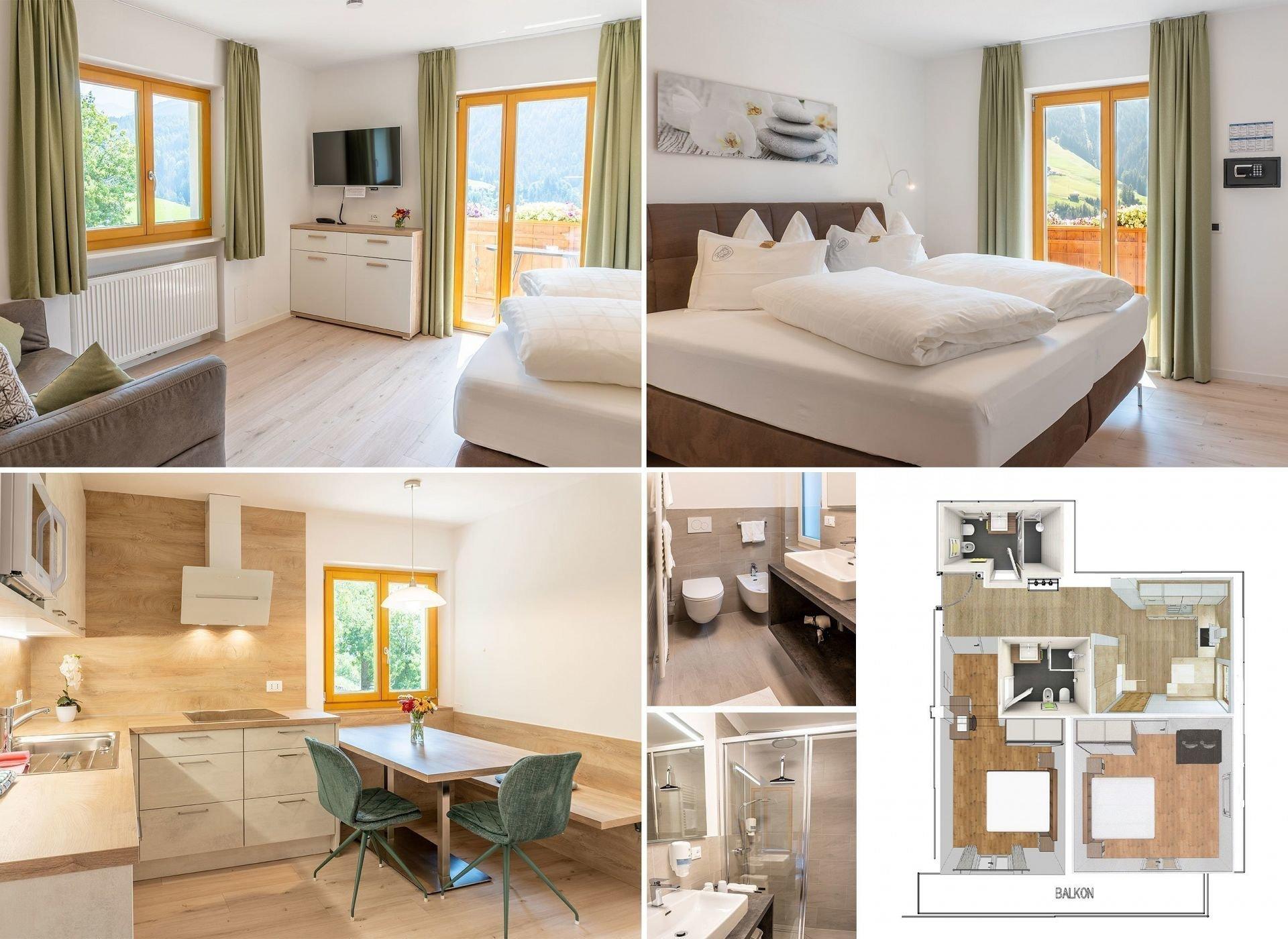 Appartamento Mehrzimmerwohnungen