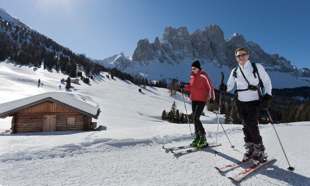 Vacanza sciistica nelle Dolomiti