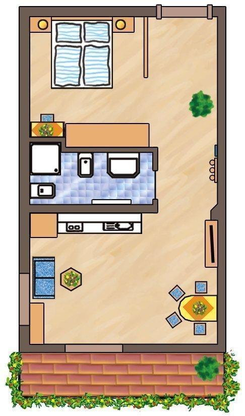 Skizze Wohnung Seceda