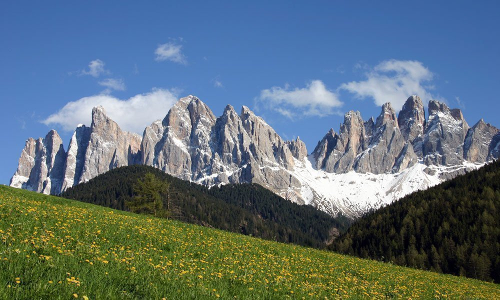 Unesco Weltnaturerbe Naturpark Puez-Geisler