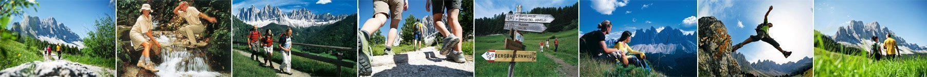 Hiking in the Val di Funes